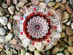 Recycled Glass Flower