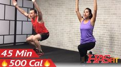 45 Min Cardio HIIT Workout for People Who Get Bored Easily - No Equipment HIIT Workout for Fat Loss - YouTube
