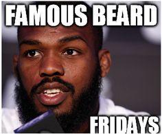 Jonny bones jones is this weeks famous beard friday! If you watch the UFC you might agree with us that Jones is the worlds best pound for pound mma fighter. Looking forward to more ufc matches coming in the next couple of months, what fights are you going to watch? #beard #beards #beardoil #beardbalm #bearded #beardlife #beardnation #beardgang #beardsofinstagram #mustache #moustache #mustachewax #handlebarmustache #gentlemen #handmade #ufc #famousbeardfridays #jonnybones #jonjones