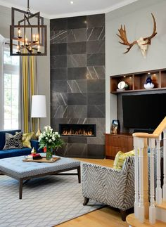 Gorgeous from top designers and 5 ways to get a similar feel in your home! Interior Design Blogs, Interior Inspiration, Design Inspiration, Denver, Fireplace Facing, Living Room Remodel, Beautiful Family, Beautiful Interiors, Luxury Homes