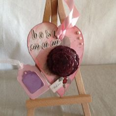 Heart Mother's Day gift best mum by Paintspotsandpaper on Etsy