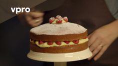 Kookvideo: Hot milk cake uit Koken met van Boven Vanilla Cake, Cookies, Baking, Desserts, Films, Youtube, Crack Crackers, Tailgate Desserts, Movies