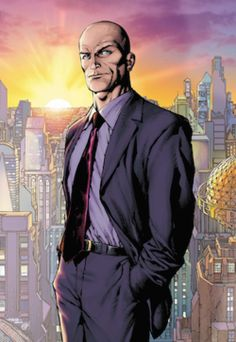 """Lex Luthor (Wikipedia article) - a supervillain; Superman's great archenemy; an all knowing academic genius, great strategist, and master psychological manipulator ; and an apparently good example of a narcissistic leader (see 3 last paragraphs of the section """"Modern depictions""""). Given his lack of physical skills or dual identity, and a tendency to use his money and other skilled people to achieve his goals; Luthor is a villainous, but much more realistic, version of Batman."""