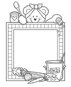 RISCOS DE URSINHOS - Silvia - Picasa Web Albums Mandala Art, Page Boarders, Tatty Teddy, Teddy Bear, School Clipart, Borders For Paper, Digi Stamps, Coloring Book Pages, Stuffed Animal Patterns