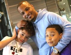 began the year with a really big night for him. His wife, Tiny Harris and his kids were obviously by his side during such an important Ti And Tiny Kids, Ti Harris, King Of The South, Rapper Ti, Family Tv, Trippie Redd, Big Words, Family Affair, Celebs