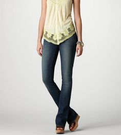 """Not DIY clothes, obviously, but wanted to save these somewhere. """"Skinny Kick"""" Jeans that Pioneer Woman loves."""