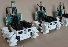 3ders.org - Build your own Oddbot, a 3D printable omnidirectional robot | 3D Printer News & 3D Printing News