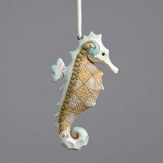 Coastal Seahorse Hanging Ornament