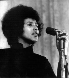 Elaine Brown, chairperson of the Black Panther Party