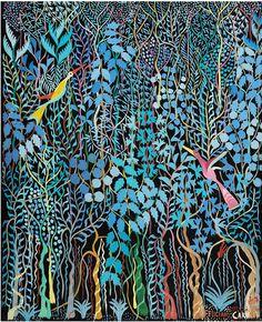 Feliciano Carvallo Venezuelan painter (1920 -2012 ) Catia la Mar Naiguata - Central Coast