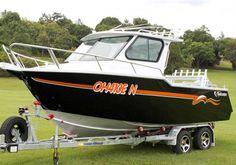 Wow, I really love this boat! :)   Vindicator 6.2m Half Cabin    #Boating #Boats #BoatsforsaleAustralia #NewBoatsforSale #PoweredTrailerBoats