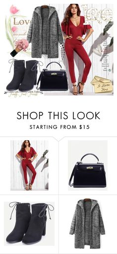 """""""ROMWE 4"""" by aida-1999 ❤ liked on Polyvore featuring WALL and Monsoon"""