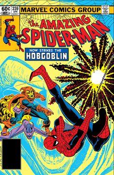 Amazing Spider-Man Vol 1 239 Marvel Comics Superheroes, Hq Marvel, Marvel Comic Books, Comic Book Characters, Comic Character, Comic Books Art, Comic Art, Book Art, Hobgoblin Marvel
