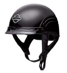 Harley-Davidson® Motorcycle Women's Bling Skyline Half Helmet.