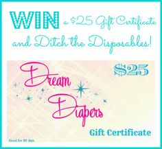 Dream Diapers Giveaway!