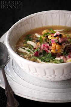 Grilled Mexican Street Corn Soup