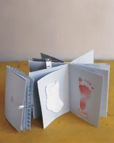 simple baby scrapbook