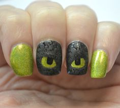 How To Train Your Dragon Toothless nails