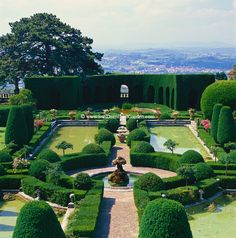 The Water Parterre At Villa Gamberaia In Florence Is Perhaps Most Famous Garden Feature Italy