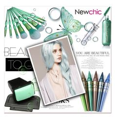 """""""Newchic 8"""" by sena87 ❤ liked on Polyvore featuring beauty and H&M"""