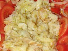 Receita Entrada : Punheta de bacalhau de Alcina