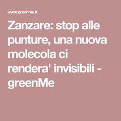 Zanzare: stop alle punture, una nuova molecola ci rendera' invisibili - greenMe