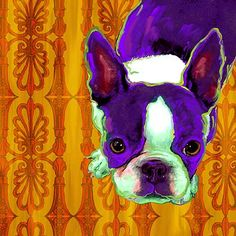 I need a French Bulldog so I can order this painting.
