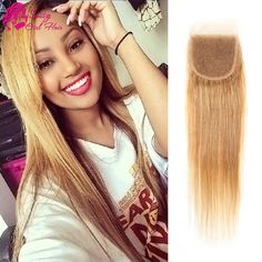 Human Hair Weaves Gentle I Envy 3 Brazilian Honey Blonde Bundles With Closure Deep Wave Human Hair Bundles With Closure Colored Hair #30 Non Remy Weaves Goods Of Every Description Are Available
