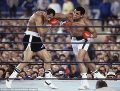 Ali took on Ken Norton for a third time in 1976, winning the fight at New York's Yankee Stadiu... #boxing hypergo #sports Best wipes for sports Go to hypergo.com Ken Norton, Sport Icon, Muhammad Ali, Michael Jordan, Boxing Champions, Fight Club, Star Quotes, Ali Quotes, Sports Figures
