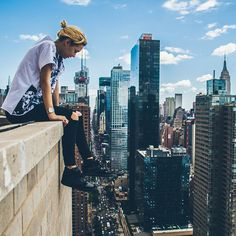 17 Year Old Instagram User Scales Manhattans Highest Buildings to Take Astonishing Photos