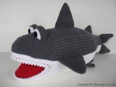Crochet Pattern - SHARK