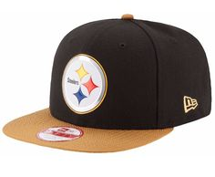 Pittsburgh Steelers New Era 9Fifty Gold Collection OSFA SnapBack Cap Hat   NewEra  PittsburghSteelers Team 500c51ce9