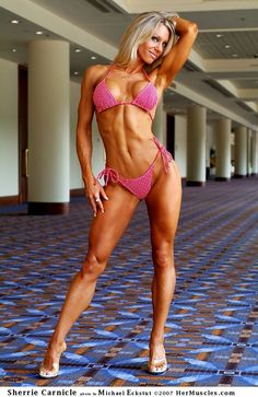 Sherrie Carnicle: Fitness Models, Female Fitness, Sherrie Carnicle, Fitness Motivation, Physical Fitness, Beautiful Girls, Body Building