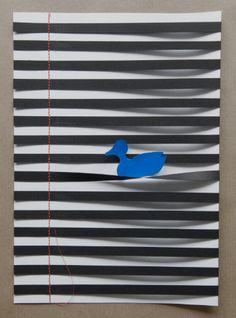 Eendje  A4 van Whitepaperbird op Etsy