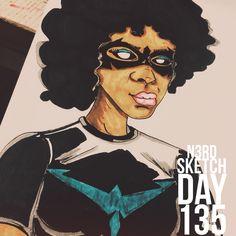 #sketchaday #artlove #penandink #nerds #art #sketchbook #artists  #sketch_daily #pencils #artnerd #acompanyofn3rds #imayneednewglasses #sanctuary #art_boost #artoninstagram #n3rds #geeks #spotlightonartists #arts_help #artists_community #prismacolor #canson #camu #fanart #Nightwing #comics #comicbooks #Batman #DCcomics