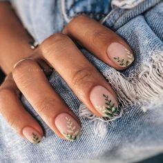 Stylish Nails, Trendy Nails, Nagellack Design, Minimalist Nails, Nagel Gel, Best Acrylic Nails, Shellac Nail Art, Nail Polish, Dream Nails