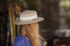 @eugeniakim #hat #summer #chic #fashion #adamofur #leather #purple #blond #girl #inspiration