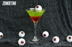 Zombies lurke in the dead of night, be ready with this Zombtini!