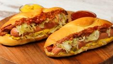 """Żarcie z ulicy"""": Hot dog Street Food, Hot Dogs, Snacks, Breakfast, Ethnic Recipes, Ideas, Breakfast Cafe, Appetizers, Thoughts"""