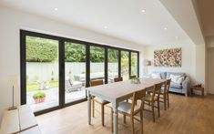Bi-fold Doors Bring Hygge Living into this Surrey Home Traditional Patio Doors, Ideal Home Show, Budget Home Decorating, Decorating Ideas, Decor Ideas, Sliding Patio Doors, Cute Home Decor, Best Dining, Creative Home