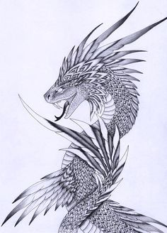AIR: I was also thinking that the mask itself could be like Quetzalcoatl...a feathered serpent. Extending a 'snout', making the mask itself based off of the mouth region with feathers.