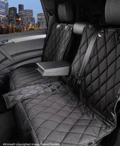 Split Rear Seat Cover For Dogs