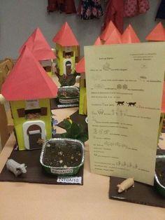 """Παρασκευή 11 Νοεμβρίου 2016   Η κατασκευή της εβδομάδας   """"Σπίτι με κήπον""""  Για την κατασκευή χρησιμοποιήθηκαν : κουτί από γάλα, χαρτόκουτο, κόκκινο χαρτόνι,πλαστικά λουλούδια, αφρώδες υλικό, πλαστικά ζωάκια, κεσεδάκι για φύτεμα.    TIP: Η πόρτα του σπιτιού είναι πλαστικό καπάκι από συσκευασία για μωρομάντηλα.   Στο πίσω μέρος της κατασκευής υπάρχει το ποίημα του Κ. Καβάφη   Το ποίημα : http://cavafis.compupress.gr/kavgr201.htm  Το ποίημα μελοποιημένο…"""