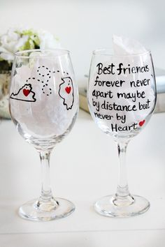Best Friend Gifts Best Friends birthday gift by Brusheswithaview