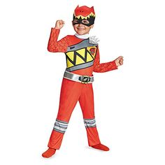 disguise  red  Ranger  dino  charge  toddler  classic  costume  large  4  6