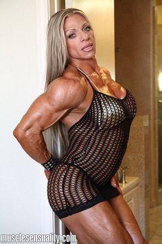 Debi Laszewski Muscular Women, Bodybuilding, Sexy Women, Bodycon Dress, Legs, Fitness, Beauty, Dresses, Style
