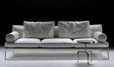 Contemporary sofa / by Antonio Citterio - HAPPY - FLEXFORM - takes my breath away! And yet it seems so homey!