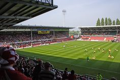 Racecourse Ground, Wrexham.