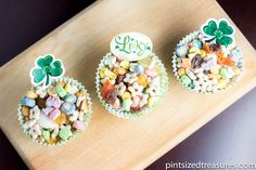 Celebrate St. Patrick's Day with some End of the Rainbow Trail mix.