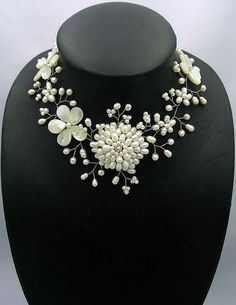 cadeaux de demoiselle d'honneur collier de perle par audreyjewelry, $38.50